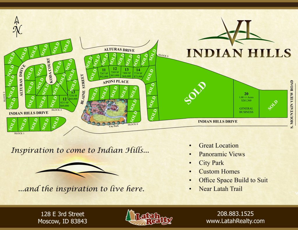 Indian Hills Subdivision